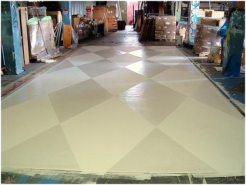 Ideas for temporary flat flooring for landlords