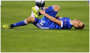 Ways to treat a footballing injury